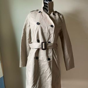 Old Navy tan Trench Coat size S